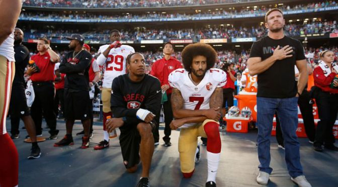Colin Kaepernick is being Un-Patriotic and We Should be Thankful for it
